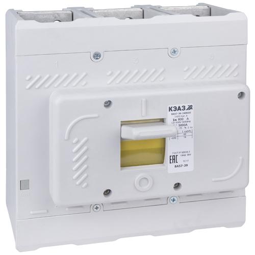 Автоматический выключатель КЭАЗ ВА57-39-340010 3P 40кА 400 А