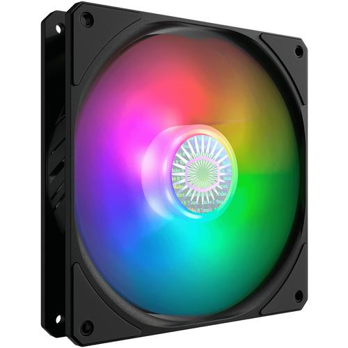 Вентилятор для корпуса Cooler Master SickleFlow 140 ARGB черный/ARGB 1 шт.