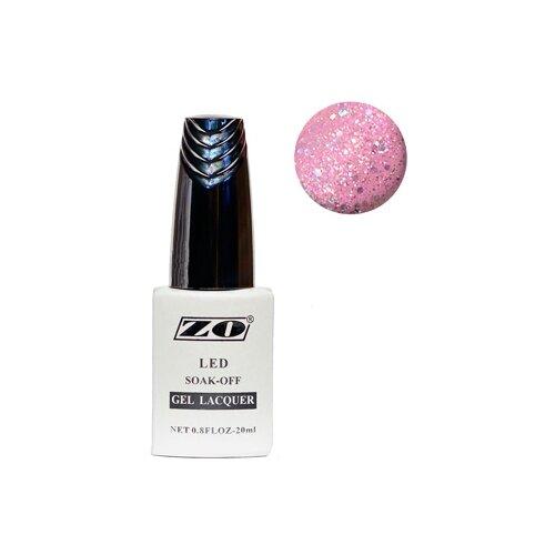 Купить Гель-лак для ногтей ZO GL, 20 мл, 107 розовый голографический