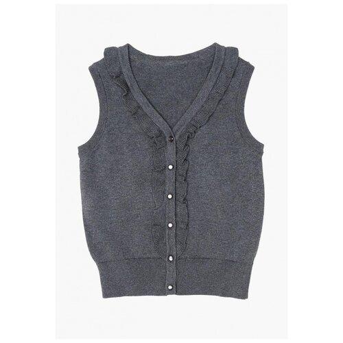 Жилет Acoola размер 158, серый платье для девочек размер 158 набивка тм acoola арт 20210200486