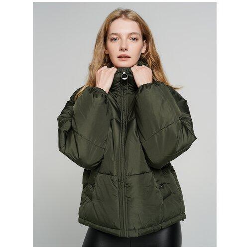 Куртка на синтепоне ТВОЕ A6566 размер L, хаки, WOMEN