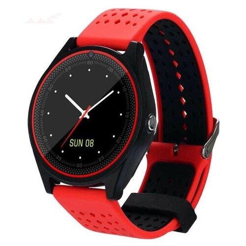 Фото - Умные часы Beverni Smart Watch V9 (красный) умные часы beverni smart watch t58 серебристый
