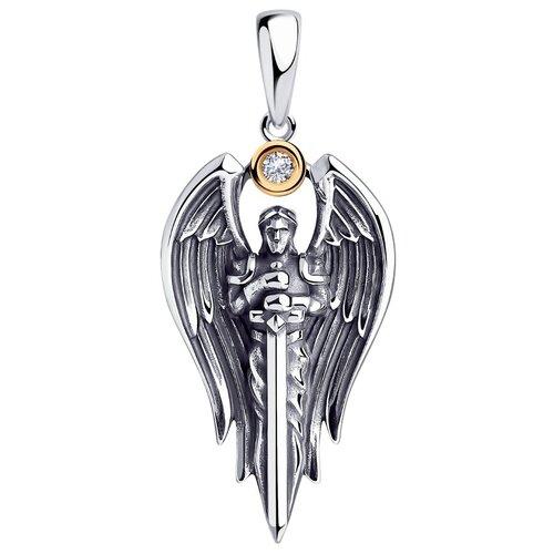 SOKOLOV Подвеска из золота и серебра с бриллиантом 1930010
