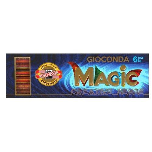 Купить Грифели для цангового карандаша K-I-N 4376/06 Мagic, 5, 6 мм, многоцветные, НАБОР 6 штук 2474814, KOH-I-NOOR, Механические карандаши и грифели
