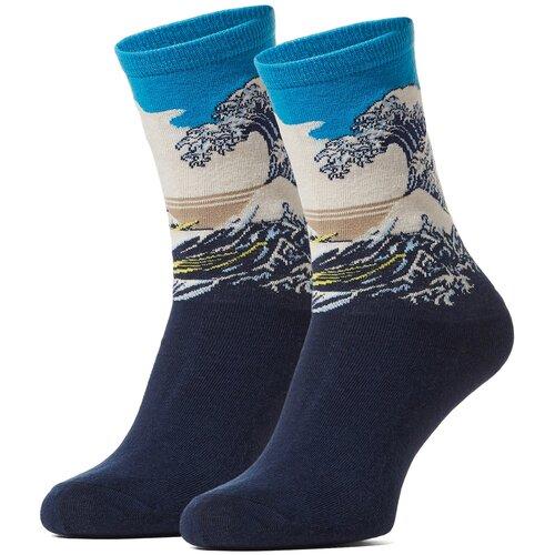 Носки Красная Жара (темно-синий; голубой; белый) 36-40