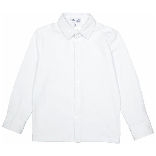 Рубашка Ciao Kids Collection размер 7 лет (122), белый