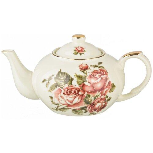 Чайник LEFARD корейская роза 400 мл lefard заварочный чайник корейская роза 1 3 л белый розовый золотой