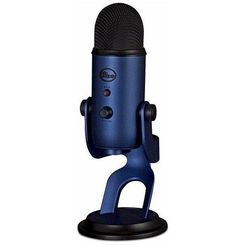 Микрофон Blue Yeti, синий