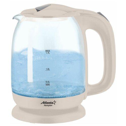 чайник atlanta ath 2460 white Чайник Atlanta ATH-2468, бежевый