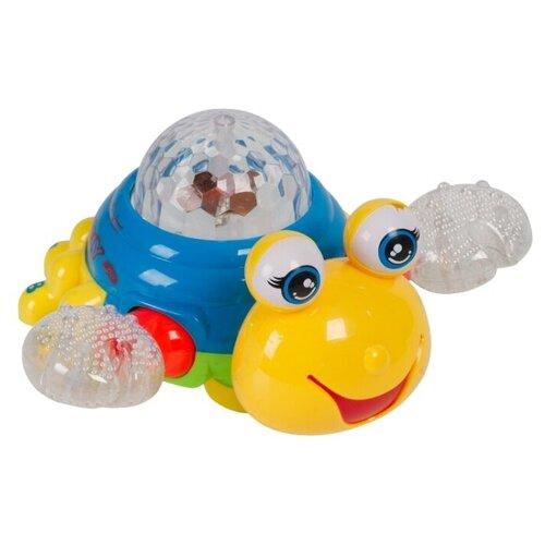 Фото - Развивающая игрушка Xing Guang Toys Краб (Б93917), желтый/синий ming xing toys водный синий