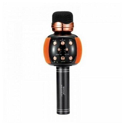 Беспроводной караоке-микрофон WSTER WS-2911, оранжевый