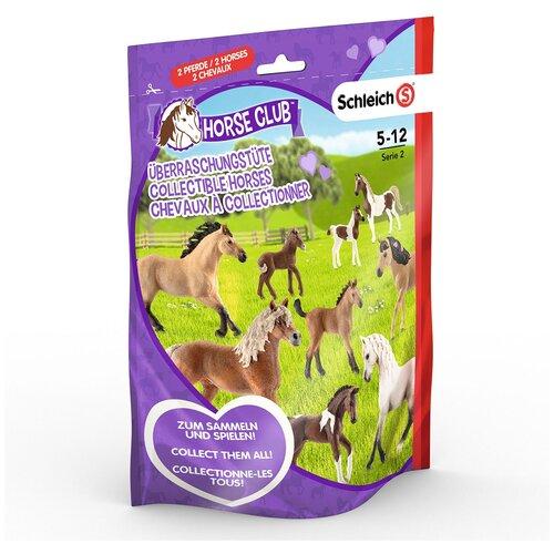 Купить Пакетик-сюрприз Schleich Horse Club Serie 2, 2 фигурки (87864/0771-2), Игровые наборы и фигурки