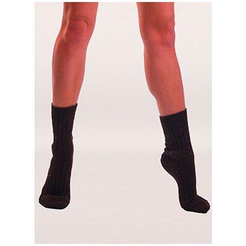 Носки согревающие Doctor из верблюжьей шерсти машинной вязки арт. 1, Коричневый, 23 (размер обуви 35-36)