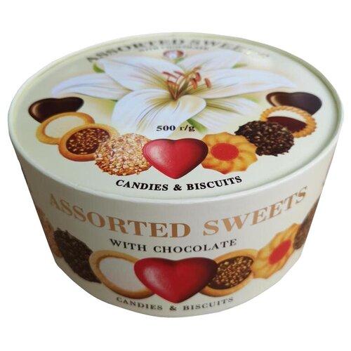 Печенье SANTA BAKERY Набор Assorted Sweets, 500 г
