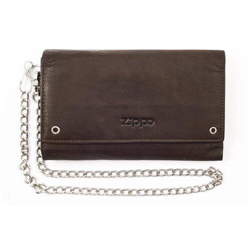 Бумажник байкера ZIPPO 2005129 темно-коричневый