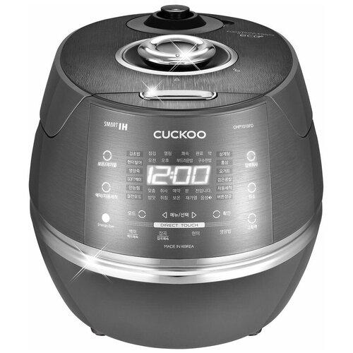 Рисоварка индукционная на 10 порций Cuckoo CRP-CHP1010FD (темно-серебристый) рисоварка cuckoo cr 3521