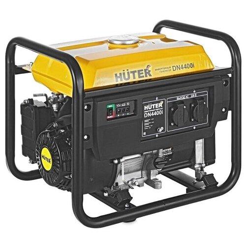 Бензиновый генератор Huter DN4400I (3300 Вт) бензиновый генератор huter dy6500lx 5000 вт