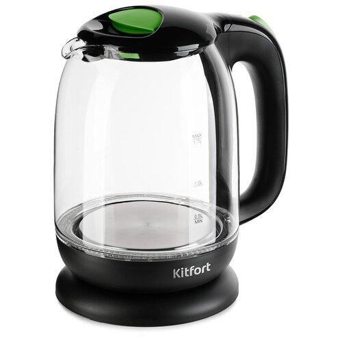 Чайник Kitfort KT-625-2, зеленый
