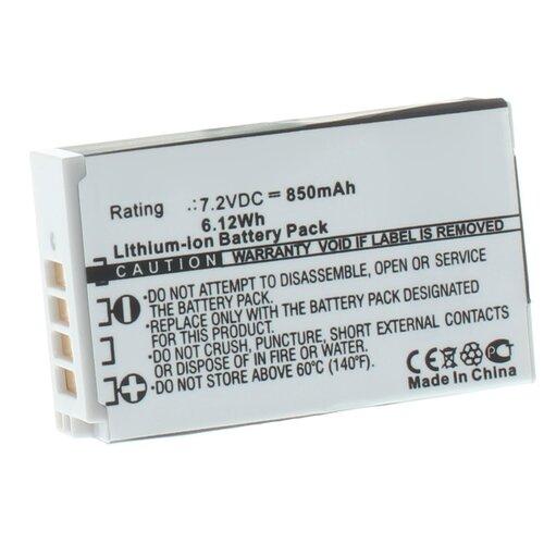 Фото - Аккумулятор iBatt iB-U1-F434 850mAh для Nikon 1 J4, 1 S2, наглазник jjc en u1 универсальный для камер nikon