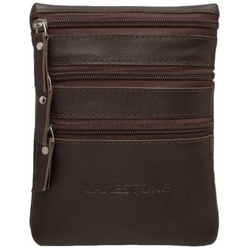Фото - Небольшая мужская сумка через плечо Wesley Brown мужская кожаная коричневая сумка milano brown 9282 коричневая
