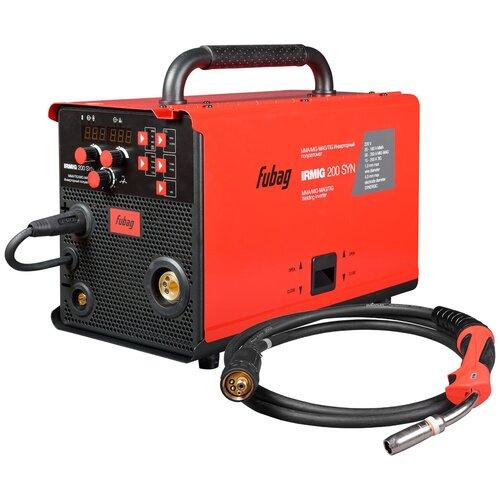 Сварочный аппарат инверторного типа Fubag IRMIG 200 SYN 31447 + горелка 38443 TIG, MIG/MAG, MMA