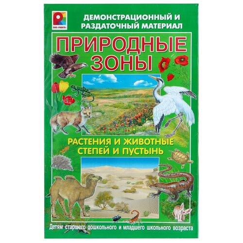 Обучающий набор Радуга Природные зоны. Растения и животные степей и пустынь