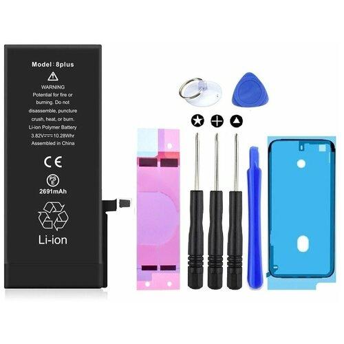 Аккумулятор для Apple iPhone 8 Plus (2691mAh) Wewo + набор инструментов для самостоятельной замены