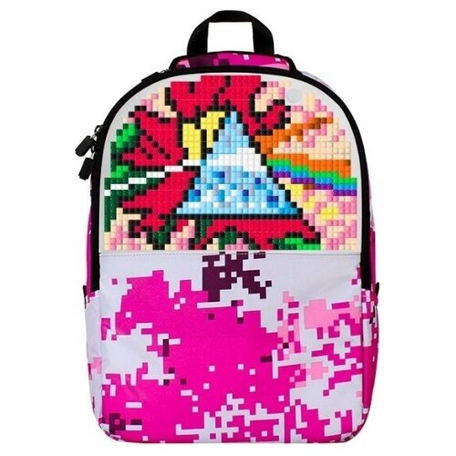 Upixel Рюкзак Camouflage Backpack WY-A021, розовый