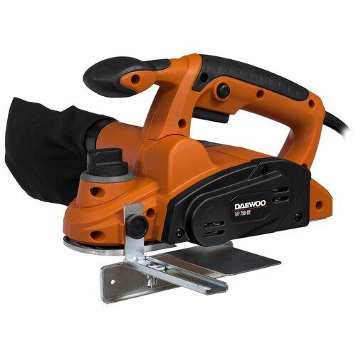 Фото - Сетевой электрорубанок Daewoo Power Products DAP 750-82, 750 Вт оранжевый/черный пылесос автомобильный daewoo power products davc100 черный оранжевый