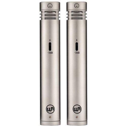 Комплект микрофонов Warm Audio WA84-C-B-ST/WA84-C-N-ST, nickel