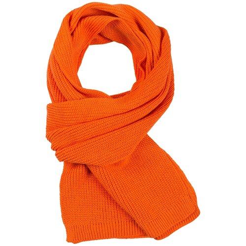 Шарф teplo Amuse, акрил оранжевый