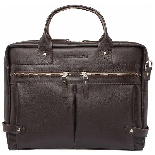 Фото - Деловая сумка Jacob Brown мужская кожаная коричневая сумка milano brown 9282 коричневая