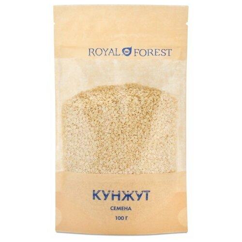 Фото - Кунжут ROYAL FOREST белый, 100 г royal forest пекмез шелковицы жидкость 250 г