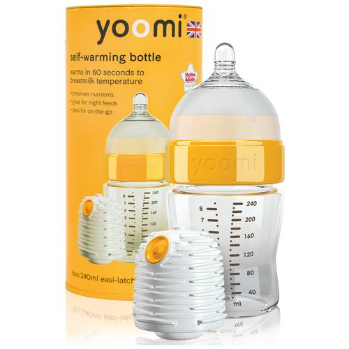Бутылочка - подогреватель (автономный) детского питания Yoomi 240 мл