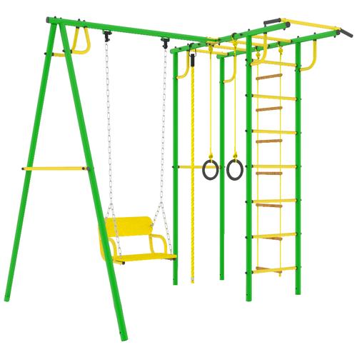 Спортивно-игровой комплекс ROKIDS Тарзан Мини 3, зеленый