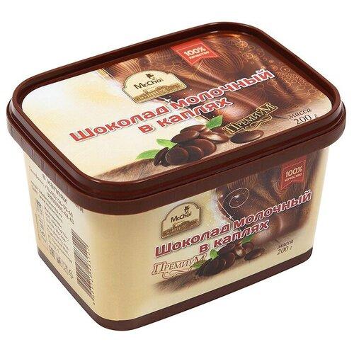 Шоколад Mr. Cho молочный в каплях 32%, 200 г недорого