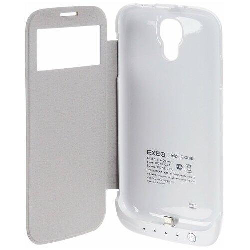 Чехол-аккумулятор для Samsung Galaxy S4 Exeq HelpinG-SF08 (белый)