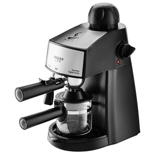 Кофеварка рожковая DELTA LUX DL-8151К черный