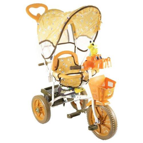 Купить Трехколесный велосипед JAGUAR MS-0737, коричневый, Трехколесные велосипеды