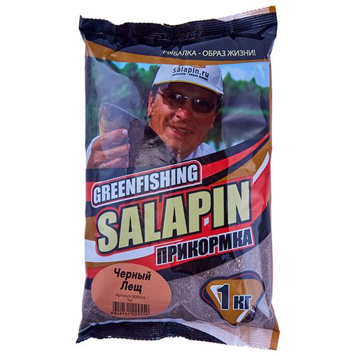 Прикормочная смесь Salapin Черный Лещ специи 1000 г