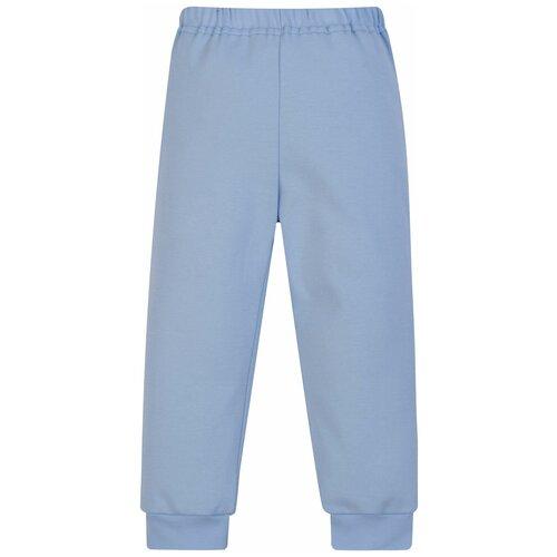 Купить Брюки Утенок 432 размер 86, голубой, Брюки и шорты