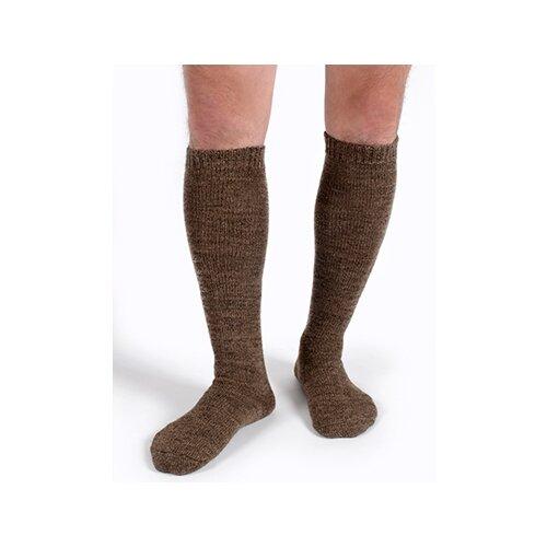 Гольфы высокие Doctor из верблюжьей шерсти, Коричневый, 23 (размер обуви 36-37)