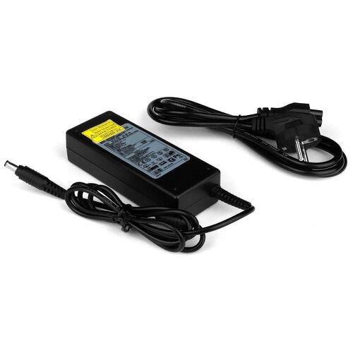 Зарядка (блок питания адаптер) для Samsung R528 (сетевой кабель в комплекте)