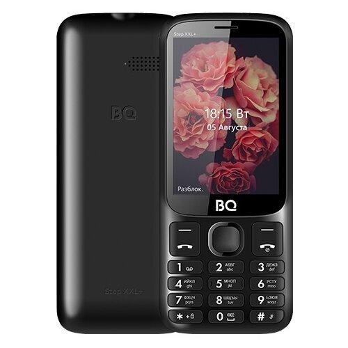 Телефон BQ 3590 Step XXL+, черный сотовый телефон bq 3590 step xxl black green