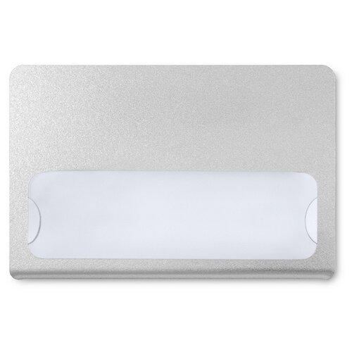 Бейдж Комус с окном для сменной информации магнит 90*60 мм с загибушкой белый