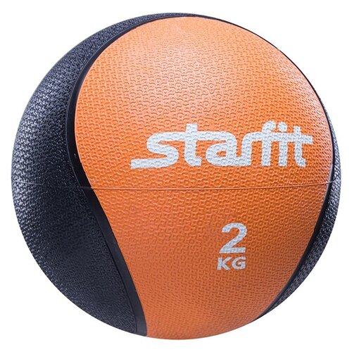 Медбол Starfit Pro GB-702 18.8cm Orange-Black УТ-00007299