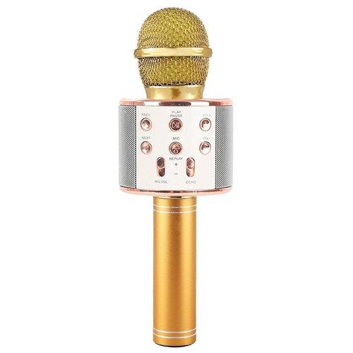 Беспроводной караоке-микрофон WS-858 (алмаз)