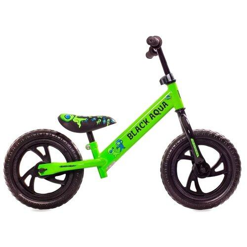 Купить Беговел Black Aqua 122 12 (зеленый), Беговелы