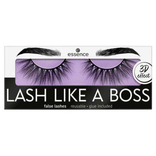 Essence Накладные ресницы Lash Like a Boss 02 Limitless черный недорого
