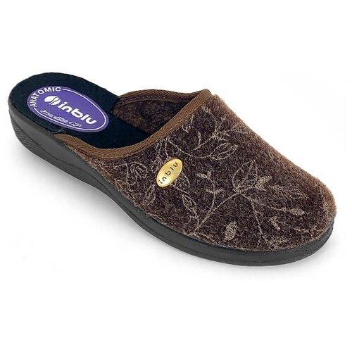 Тапочки Inblu коричневый 39